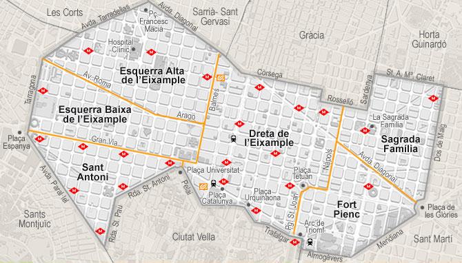 Barcelona's Neighborhoods: Eixample