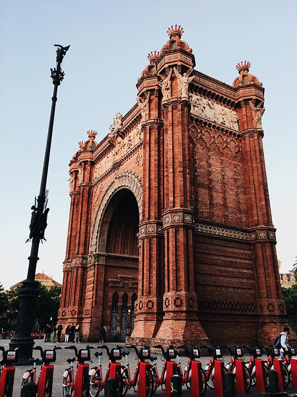 Arc de Tromf Barcelona