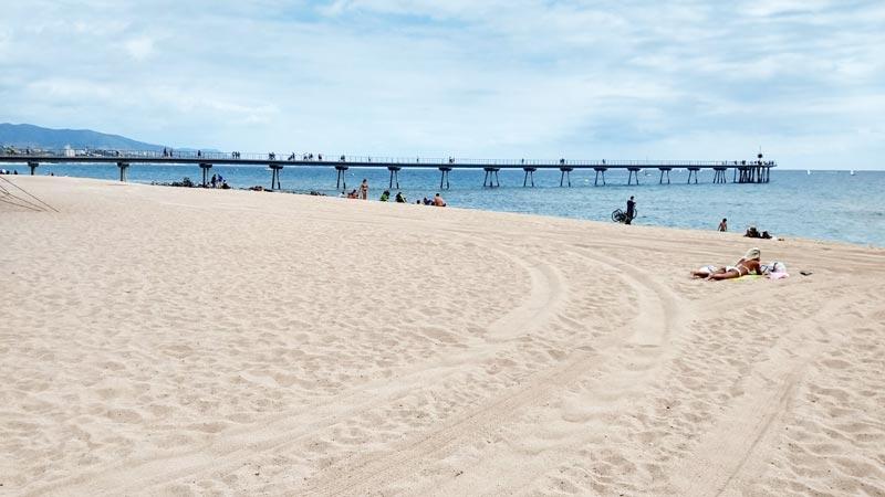 Badalona: One of the best beaches near Barcelona