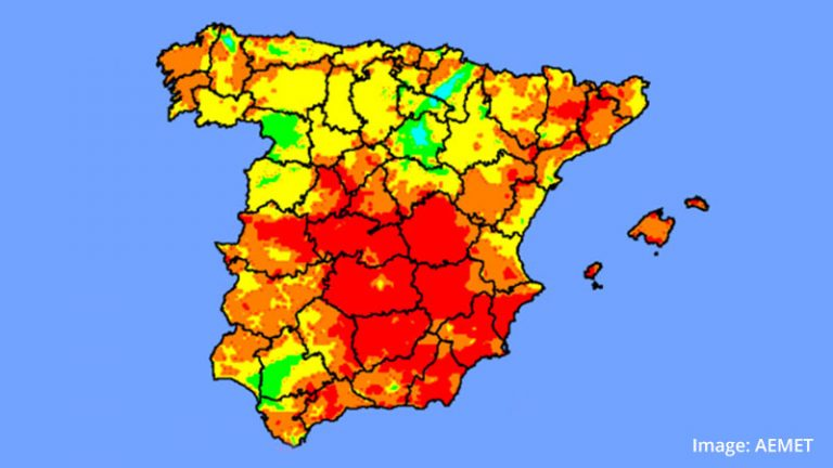 Heatwave in Spain