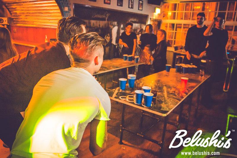 Belushi's Beer Pong Monday