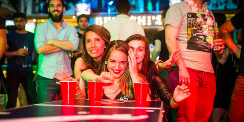 Where to Play Beer Pong in Barcelona